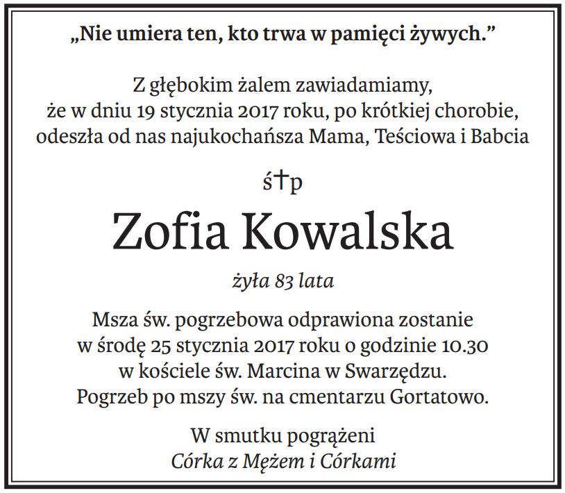 nekrologi Poznań