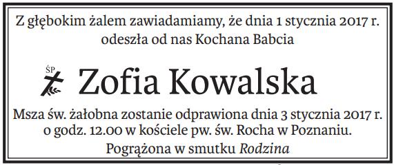 nekrologi do Głosu Wielkopolskiego