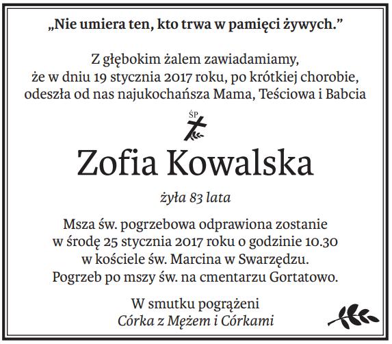 nekrolog Głos Wielkopolski