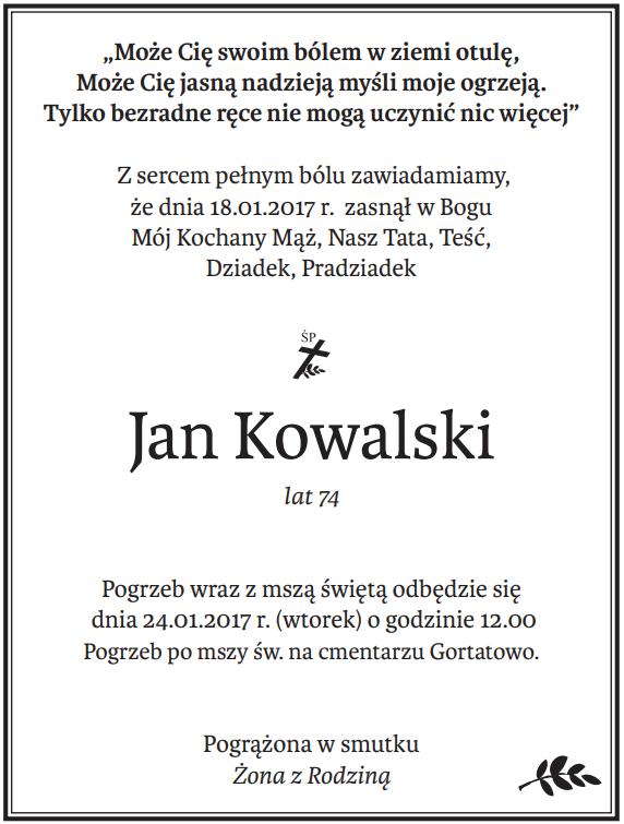 nekrologi Głos Wielkopolski